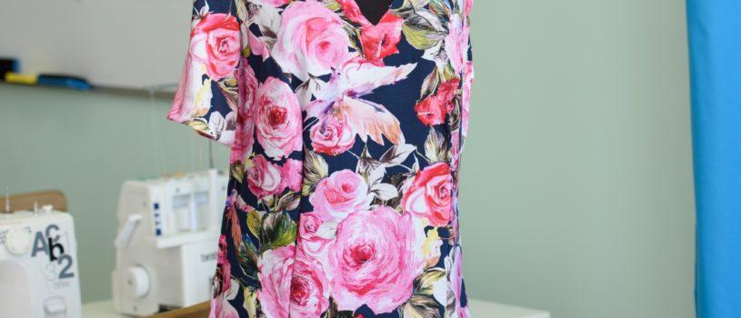 Ещё одно лёгкое, воздушное и прохладное платье для лета