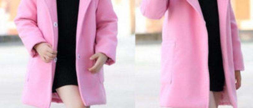 Пальто с капюшоном на рост 104-140 см