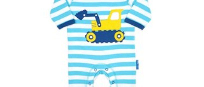 Идеи полосатых комбинезончиков для малышей