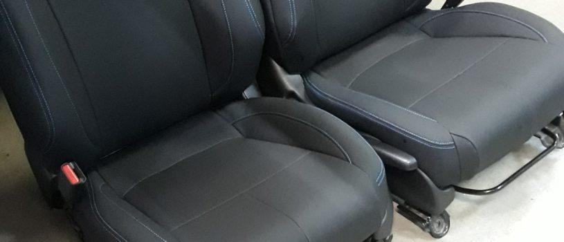 Чехлы из отличной экокожи Dakota на Honda CR-Z