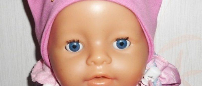 Подборка выкроек: шапочки для кукол Беби Бон, все подробности в описании к фото