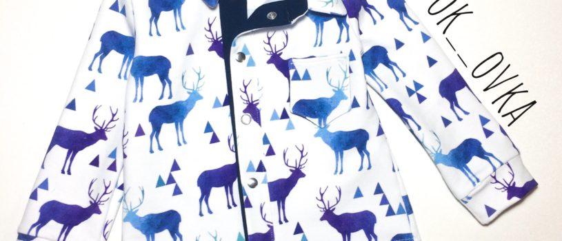 Рубашка из трикотажа