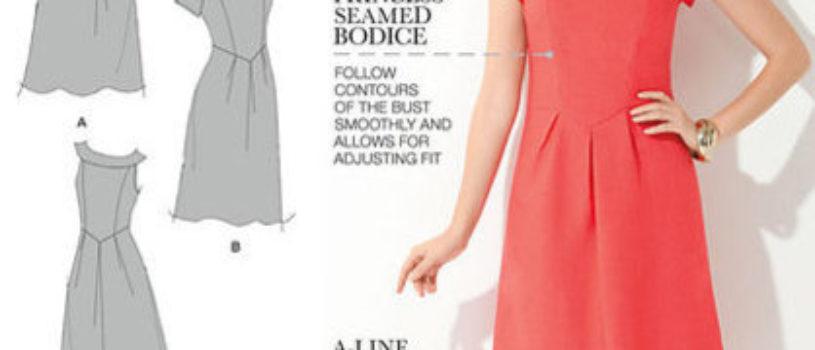 Платье несколько вариантов — размер 10-18 — таблица размеров и источник внутри файла