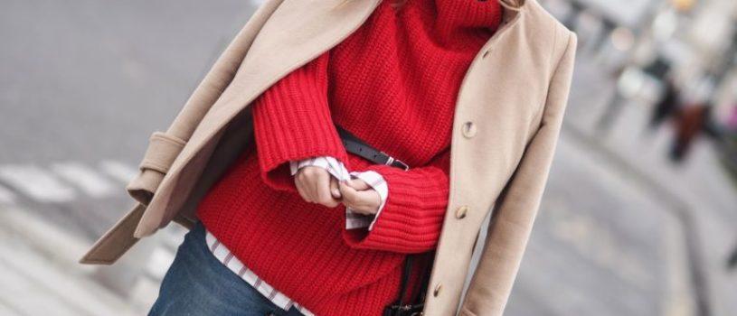 Яркий свитер : 10+ примеров, как создать красивый образ