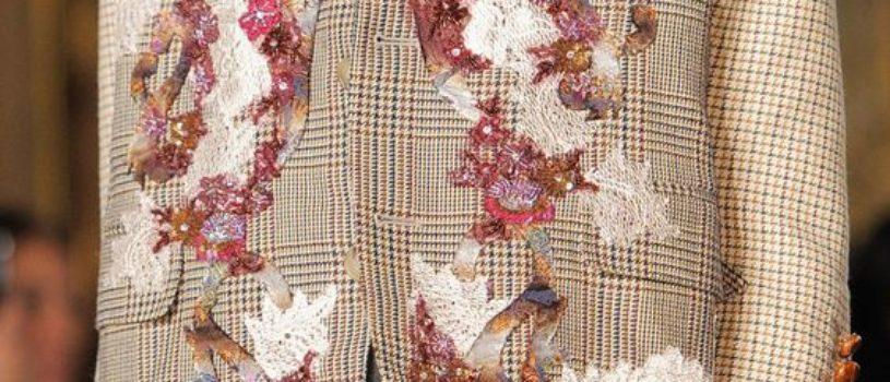Необычные идеи применения вышивки