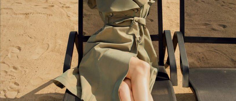 Тренч — романтичный предмет гардероба, являющийся одним из самых частых героев классического кинематографа.