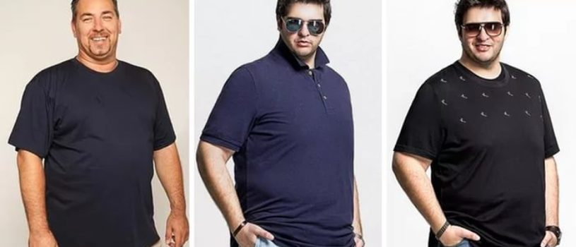 Одежда для полных мужчин.