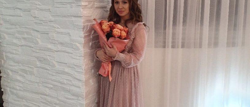Когда волшебное не только платье, но и его обладательница  Настоящая принцесса Мария в платье из сеточки, шёлка и кружева