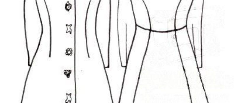 #Чертеж_выкройки пальто и построение двушовного рукава